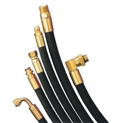 Black Hydraulic Hoses