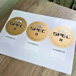 PVC Stickers, Packaging Type: Roll