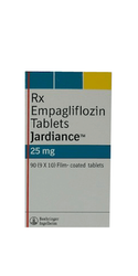 Jardiance  Empagliflozin 25 Mg Tablets