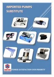 Imported Hydraulic Pumps Substitute