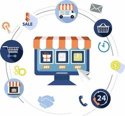 ECommerce Website, With Online Support