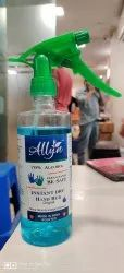 Allyn Instant Hand Rub 500ML Sanitizer With 70% Alcohol