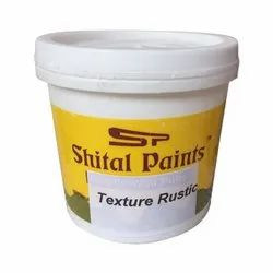 Shital Paints Wall Texture Rustic, Packaging Type: Bucket