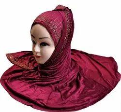 Hosiery 4 Way Stretchable Women Scarf Hijab
