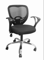 Low Back Black Mesh Office Chair