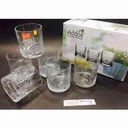 5af1a7c6a89 Addox Transparent Rainbow Crystal Glass Tumbler
