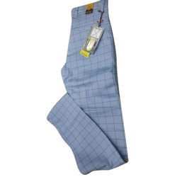 Office Wear Cotton Men's Formal Trouser