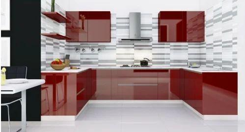U Shaped Kitchen Interior Designing Services
