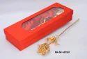 Mki Gold Plated Rose, Length: 25 Cm