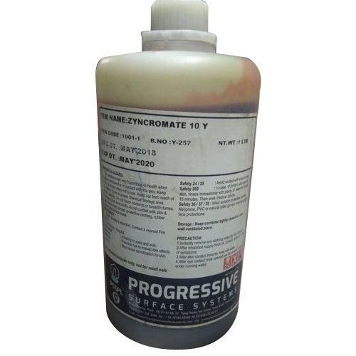 Zynchromate 10y Gold Plating Chemical