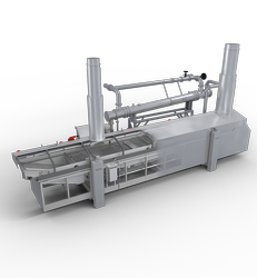 Continuous Snack Frying Line