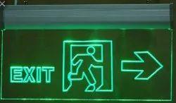 Acrylic EXIT Signs