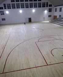 Basketball Court Flooring Installation Service