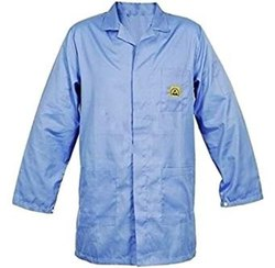 Embroidered Modern Antistatic Apron Coat, For Workwear, Handwash
