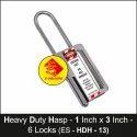 Heavy Duty Lockout Hasp