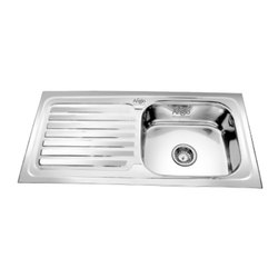 SS Single Bowl Sink with Drainboard