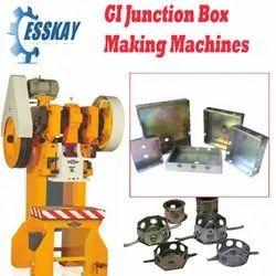 GI Junction Box Making Machines