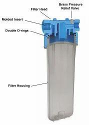 transparent Jumbo Filter Housing, 8 Bar, Size: 20