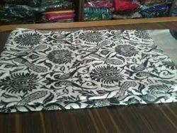 Printed Silk Saree with Blouse Piece