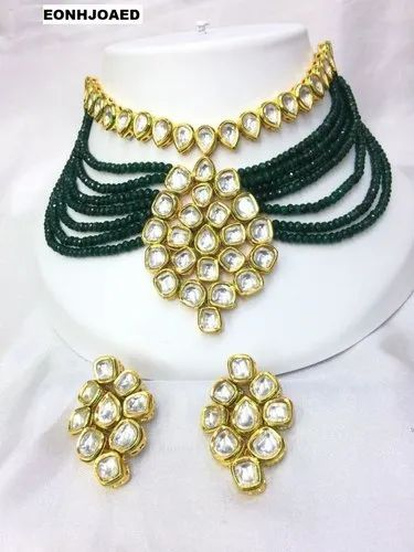 ac2c195e50bd21 NECKLACE SETS - DC Kundan Beaded Festive Wear Necklace Sets ...