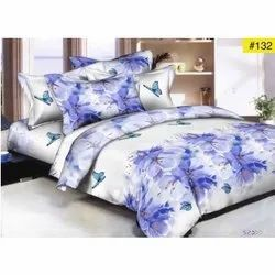 Plush Printed Bedsheet and AC Quilt