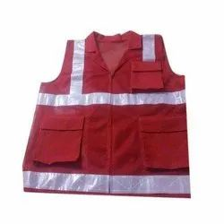 Red Safety Jacket