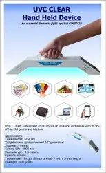 UVC Clear Hand Held Sanitizer