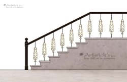 Metal Baluster Staircases
