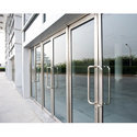 Toughened Glass Aluminum Door