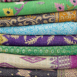 Old Style Kantha Quilt