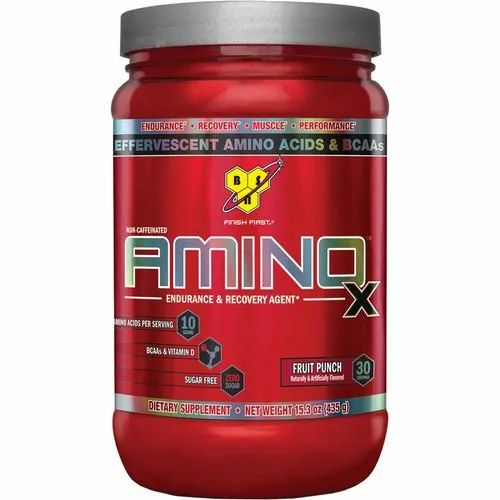 Muscle Building BSN Amino X Protein Powder For Gym Supplement Packaging Size: 435 Gm Rs 1600
