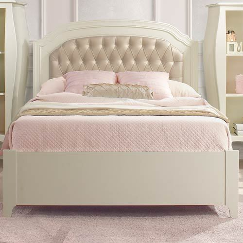 White Modular Designer Bed