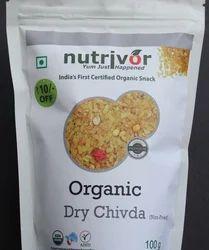 Nutrivor Organic Dry Chivda, 100 g