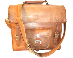 Genuine Leather Office Shoulder Bag