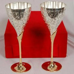 Silver Plated Glasses