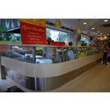 Stainless Steel, Glass Sweet Display Counter, Thickness: 1.5 Mm, For Restaurant