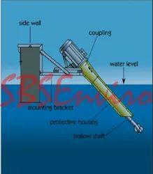 Fluidized Aerated Reactor Aspirator Type Fixed Mounted Aerator Distributor
