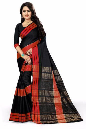 252558213a Aura Cotton Silk Saree With Blouse, Rs 350 /piece, PATLANI STYLE ...