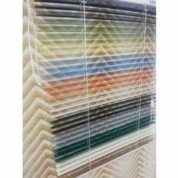 Horizontal Aluminium Venetian Blind, For Window, Size: 25mm