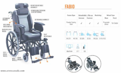 FABIO Reclining Wheelchair