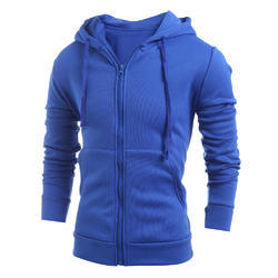 Cotton Mens Hooded Jacket