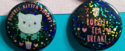 Holographic Films for Printed Buttons and Acrylic Sheets