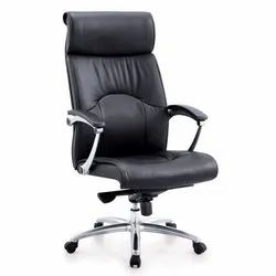 Black Leatherette CEO Chair