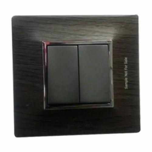 10-15 Amps Elleys Electro Plate Modular Switch, 220-240v