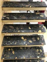 Black Marinace Granite Steps