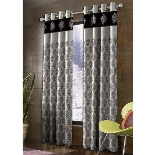 La Elite Printed Polyester Door Curtain Size 4 Feet X 7