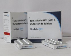 Tamsulosin Hcl 0.4 mg (CR)and Dutasteride0.5 mg  Tablets