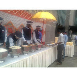 Indian Fast Food Catering Services, Live Counters