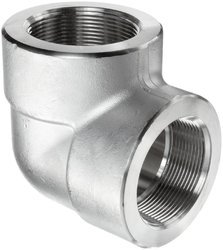 SKYLAND Stainless Steel A182 F317L IBR Threaded Elbow, For Chemical Fertilizer Pipe, For Structure Pipe