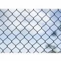 Coated Silver, Black Metal Chain Link Fencing, For Agriculture, Industrial Etc, Size: 1.6 To 4mm